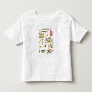 Chinese military equipment, illustration from 'Le Toddler T-shirt
