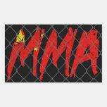 Chinese MMA Sticker