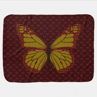 Chinese Monarch Baby Blanket