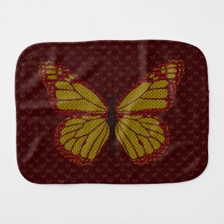 Chinese Monarch Burp Cloth