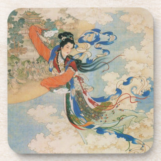 Chinese Moon Goddess coaster