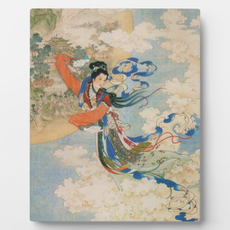 Chinese Moon Goddess plaque