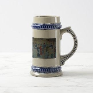 Chinese Mural Painting Coffee Mugs