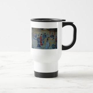 Chinese Mural Painting Travel Mug