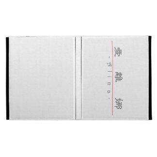 Chinese name for Alina 21264_2.pdf iPad Folio Covers