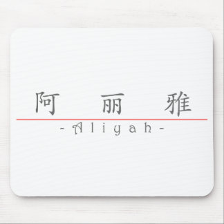 Chinese name for Aliyah 21132_1.pdf Mouse Pad