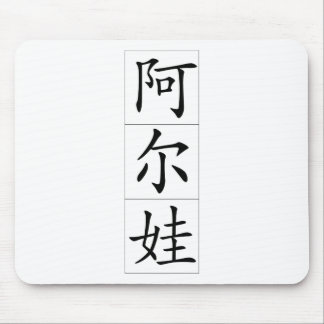 Chinese name for Alva Female 20012_1.pdf Mouse Pad