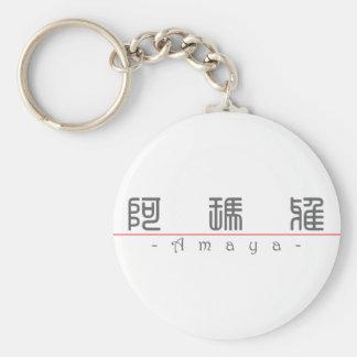 Chinese name for Amaya 21209_0.pdf Basic Round Button Keychain