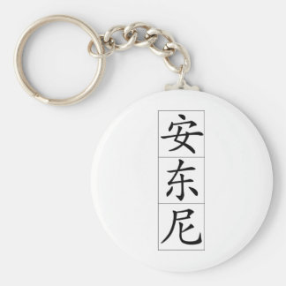 Chinese name for Antony Anthony 20420_1.pdf Keychain