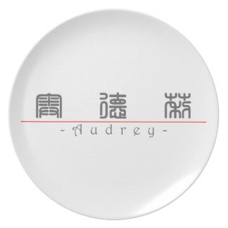 Chinese name for Audrey 20029_0.pdf Melamine Plate