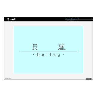 """Chinese name for Bailey 21087_2.pdf Skins For 15"""" Laptops"""