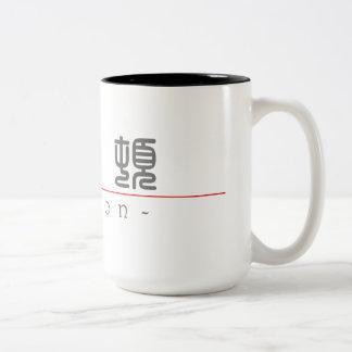 Chinese name for Barton 20451_0.pdf Two-Tone Coffee Mug