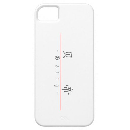 Chinese name for Betty 20041_1.pdf iPhone 5 Cover