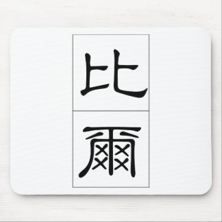 Chinese name for Bill 20469_2.pdf Mouse Pad