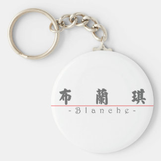 Chinese name for Blanche 20044_4.pdf Keychain