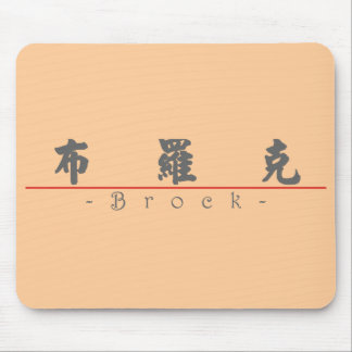 Chinese name for Brock 22324_4.pdf Mouse Pad