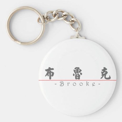 Chinese name for Brooke 21085_4.pdf Keychain