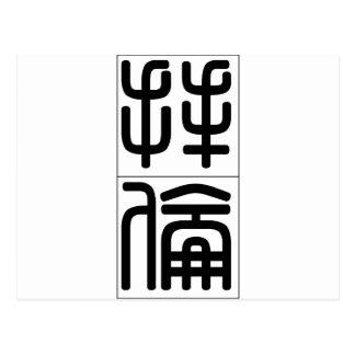 Chinese name for Byron 20495_0.pdf Postcard