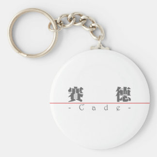 Chinese name for Cade 22346_3.pdf Basic Round Button Keychain