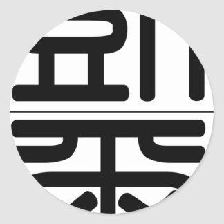Chinese name for Carr 20500_0.pdf Classic Round Sticker