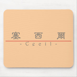 Chinese name for Cecil 20503_2.pdf Mouse Pad