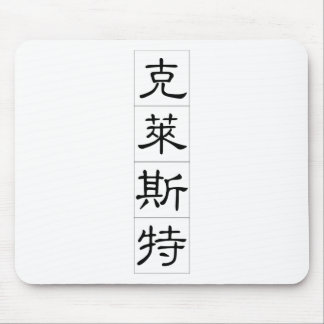 Chinese name for Christ 20511_2.pdf Mouse Pad