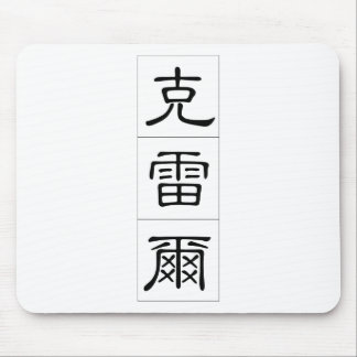 Chinese name for Clare 20514_2.pdf Mouse Pad