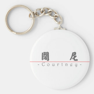 Chinese name for Courtney 21417_4.pdf Keychain