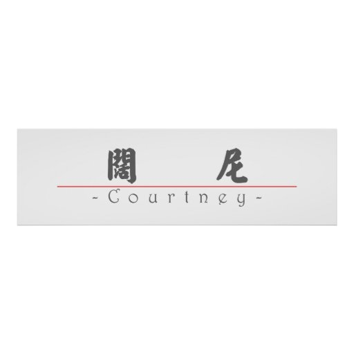 Chinese name for Courtney 21417_4.pdf Print