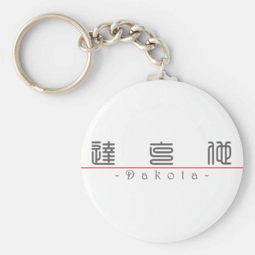 Chinese name for Dakota 22312_0.pdf Keychain