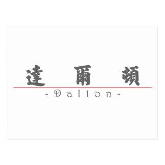 Chinese name for Dalton 22275_4.pdf Postcard