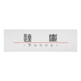 Chinese name for Danna 21364_0 pdf Posters