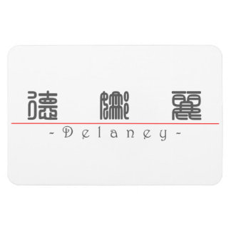 Chinese name for Delaney 21234_0.pdf Rectangular Photo Magnet