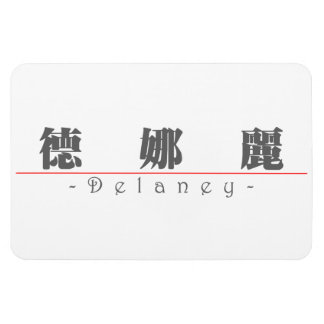 Chinese name for Delaney 21234_3.pdf Rectangular Photo Magnet