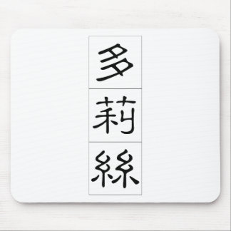 Chinese name for Doris 20092_2.pdf Mouse Pad