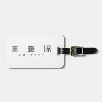Chinese name for Emerson 22386_0 pdf Tags For Luggage