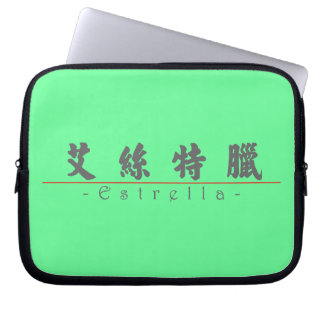 Chinese name for Estrella 21432_4 pdf Laptop Computer Sleeve