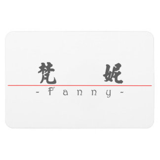 Chinese name for Fanny 20122_4.pdf Vinyl Magnets