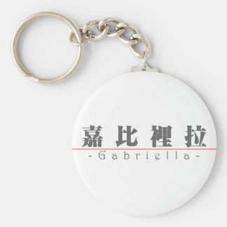 Chinese name for Gabriella 21033_3.pdf Keychain