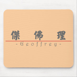 Chinese name for Geoffrey 20596_4.pdf Mouse Pad