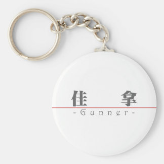Chinese name for Gunner 22332_3.pdf Basic Round Button Keychain