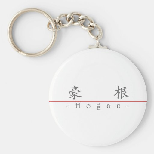 Chinese name for Hogan 20630_1.pdf Keychain