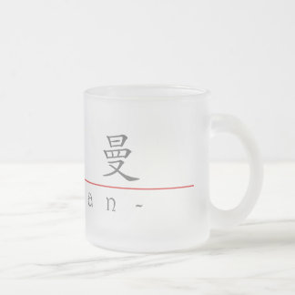 Chinese name for Hyman 20638_1.pdf Frosted Glass Coffee Mug