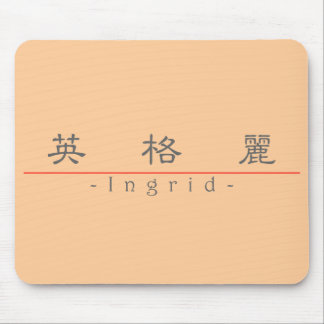 Chinese name for Ingrid 20158_2.pdf Mouse Pad