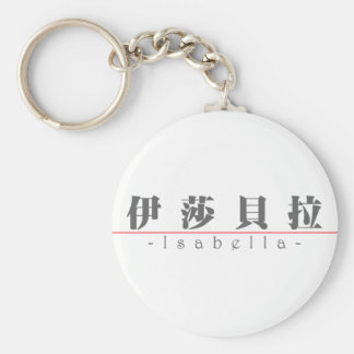 Chinese name for Isabella 21001_3.pdf Keychain
