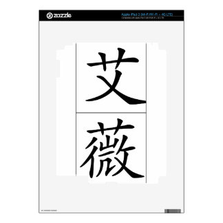 Chinese name for Ivy 20163_1.pdf Decals For iPad 3