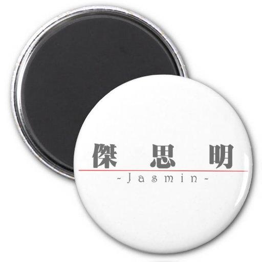 Chinese name for Jasmin 21420_3.pdf Fridge Magnet