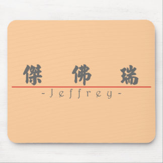 Chinese name for Jeffrey 20654_4.pdf Mouse Pad