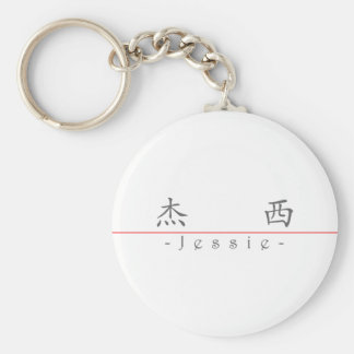 Chinese name for Jessie 20172_1.pdf Keychain