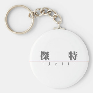 Chinese name for Jett 22330_3.pdf Basic Round Button Keychain